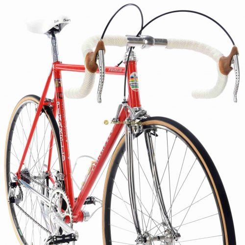 Mid 1980s PINARELLO Treviso SL, Campagnolo Super Record, Eroica vintage steel collectible bike by Premium Cycling