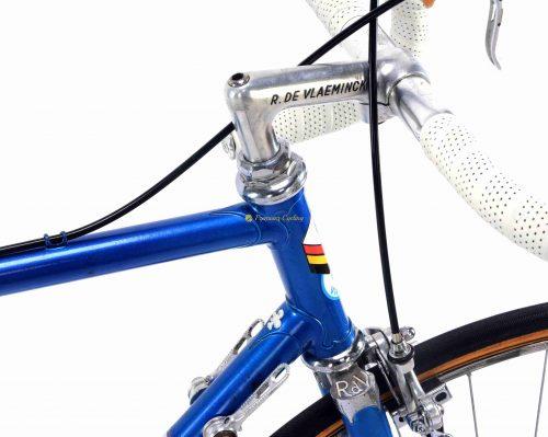 1980 COLNAGO RDV - Roger De Vlaeminck, Campagnolo Super Record, Eroica vintage steel collectible bike by Premium Cycling