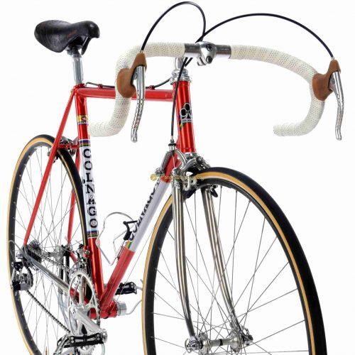 1984 COLNAGO Nuovo Mexico Profil Saronni, Campagnolo Super Record, Eroica vintage steel bike by Premium Cycling