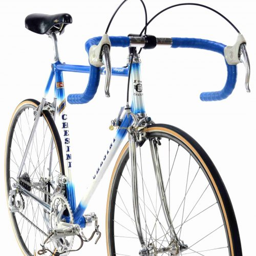 1985-86 CHESINI X-Uno Campagnolo C Record Cobalto, Eroica vintage steel collectible bike by Premium Cycling