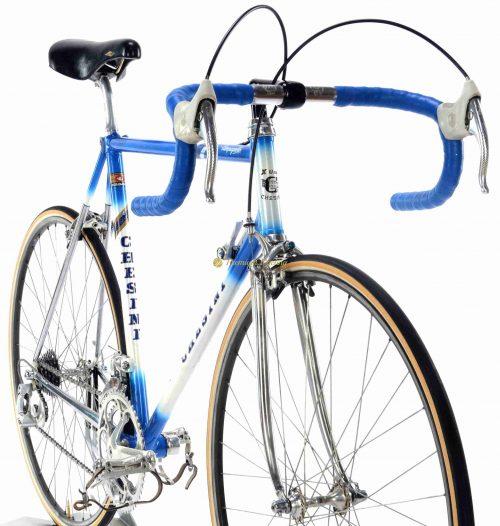 1985-86 CHESINI X-Uno Campagnolo C Record Cobalto, Eroica vintage steel collectible bike by Premium Cycling