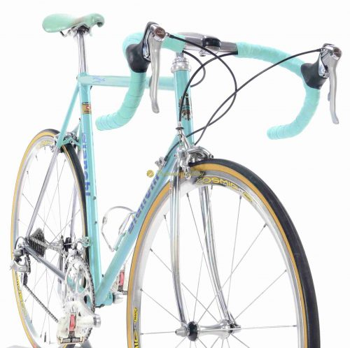1993-94 BIANCHI Minimax Reparto Corse, Shimano Dura Ace 7410 groupset, vintage steel collectible bike by Premium Cycling