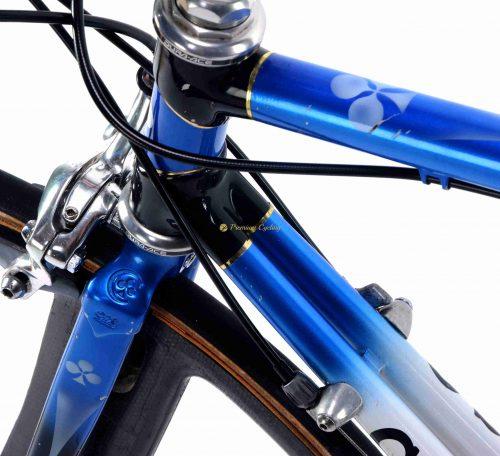 1994-95 COLNAGO Carbitubo Krono Team Lampre, ridden by Roberto Conti, vintage collectible time trial bike