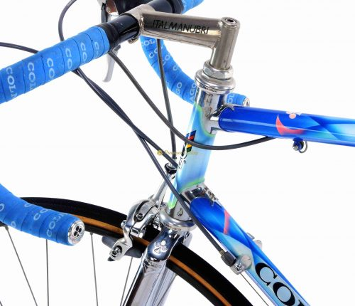 COLNAGO Master Mapei ridden by Marco Giovanetti (Mapei Team) 1994, vintage steel collectible bike by Premium Cycling