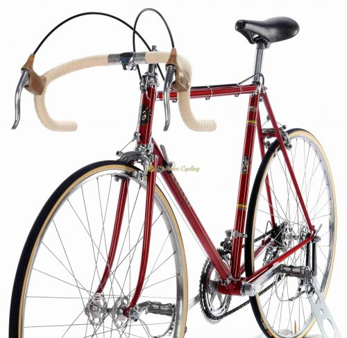 Early 1960s Cinelli Modello B, Campagnolo Record 1st generation, Eroica vintage steel collectible bike by Premium Cycling
