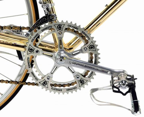 1979-80 COLNAGO Mexico Oro, Campagnolo Super Record, Eroica vintage luxury bike by Premium Cycling