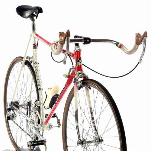 1984-85 COLNAGO Master Crono Team Del Tongo, Campagnolo Super Record, vintage collectible bike by Premium Cycling