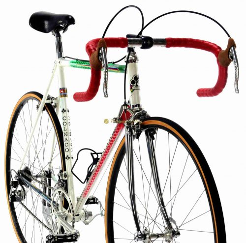 1985 COLNAGO Master Tricolore Campagnolo Super Record, Eroica vintage steel luxury bike Premium Cycling