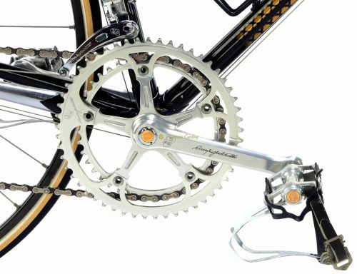 1986 COLNAGO Arabesque Regal Campagnolo 50th Ann groupset, luxury vintage steel bike by Premium Cycling