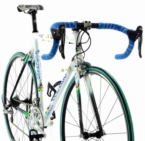 2002 COLNAGO C40 B-Stay Mapei WC Campagnolo Record 10s, vintage collectible bike by Premium Cycling