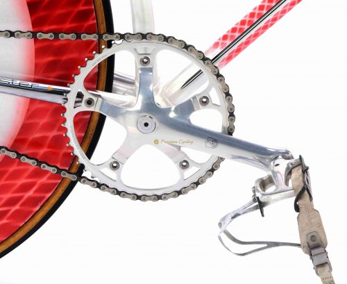 COLNAGO Master Equilateral Pista 1980s, vintage luxury track bicycle by Premium Cycling
