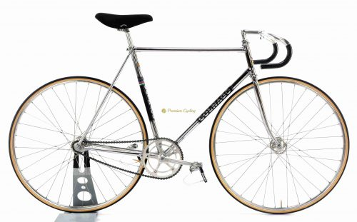 Early 1970s COLNAGO Mexico Pista, Campagnolo Record Pista, vintage steel track bicycle by Premium Cycling
