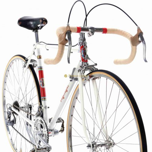 POGLIAGHI Italcorse 1960s Campagnolo Record 1st gen, Eroica vintage steel collectible bike by Premium Cycling