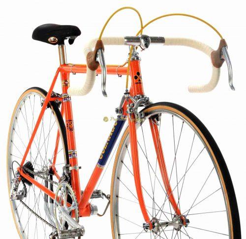 1973 COLNAGO Super Molteni Campagnolo Nuovo Record + Merckx jersey, Eroica vintage steel bike by Premium Cycling