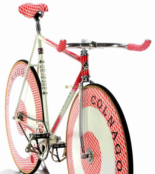 COLNAGO Master Pista Del Tongo Team 1984-85, vintage steel track pursuit collectible bike by Premium Cycling
