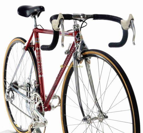 1987 COLNAGO Master Saronni Retinato, Campagnolo C Record Delta 1987 49.5cm, Eroica vintage steel bike by Premium Cycling