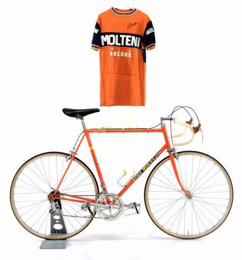 COLNAGO Super Eddy Merckx Molteni perfect replica + jersey 1972-73