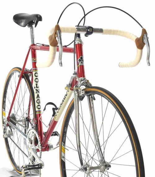 1983 COLNAGO Nuovo Mexico Saronni Campagnolo 50th Ann, vintage steel collectible bike by Premium Cycling