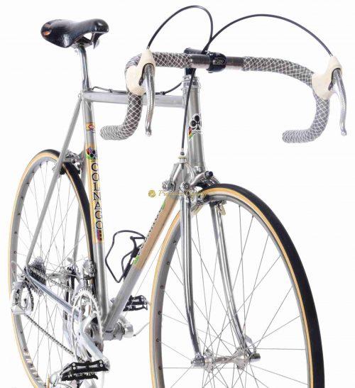 1985 COLNAGO Nuovo Mexico Profil, Campagnolo C Record Cobalto, vintage steel Eroica bike by Premium Cycling