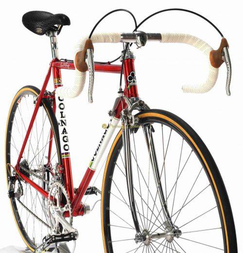 1985 COLNAGO Nuovo Mexico Profil Saronni, Campagnolo Super Record, Eroica vintage steel bike by Premium Cycling