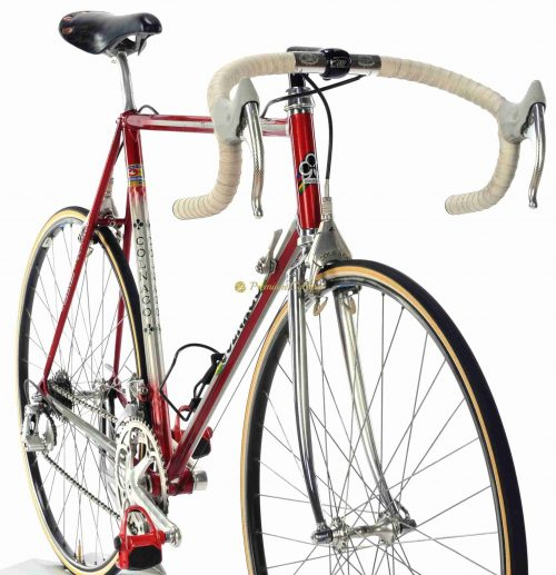 1987 COLNAGO Master Team Del Tongo, Campagnolo C Record Delta, vintage steel racing bike by Premium Cycling