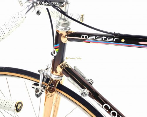1984 COLNAGO Master Oro Cromovelato, Campagnolo Super Record 1984, Eroica luxury vintage steel bike by Premium Cycling