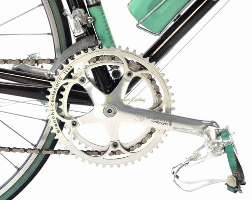 1985 BIANCHI Centenario Limited Edition no.192 Campagnolo C Record, luxury vintage steel bike by Premium Cycling