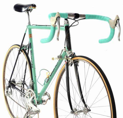 BIANCHI Specialissima X4 by Jesper Worre Gewiss Bianchi Team 1988, vintage steel collectible bike by Premium Cycling