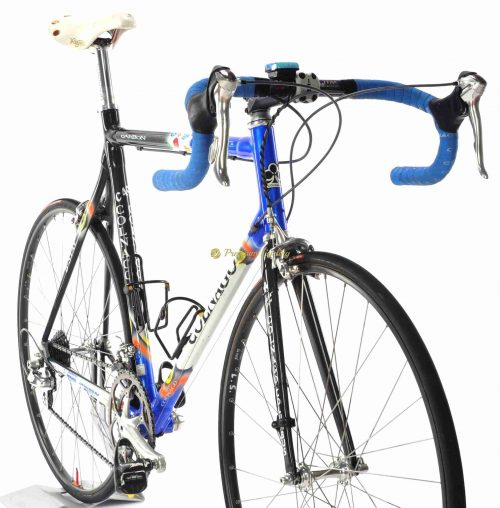 COLNAGO C40 B-Stay Mapei 2002, authentic bike of Luca Scinto